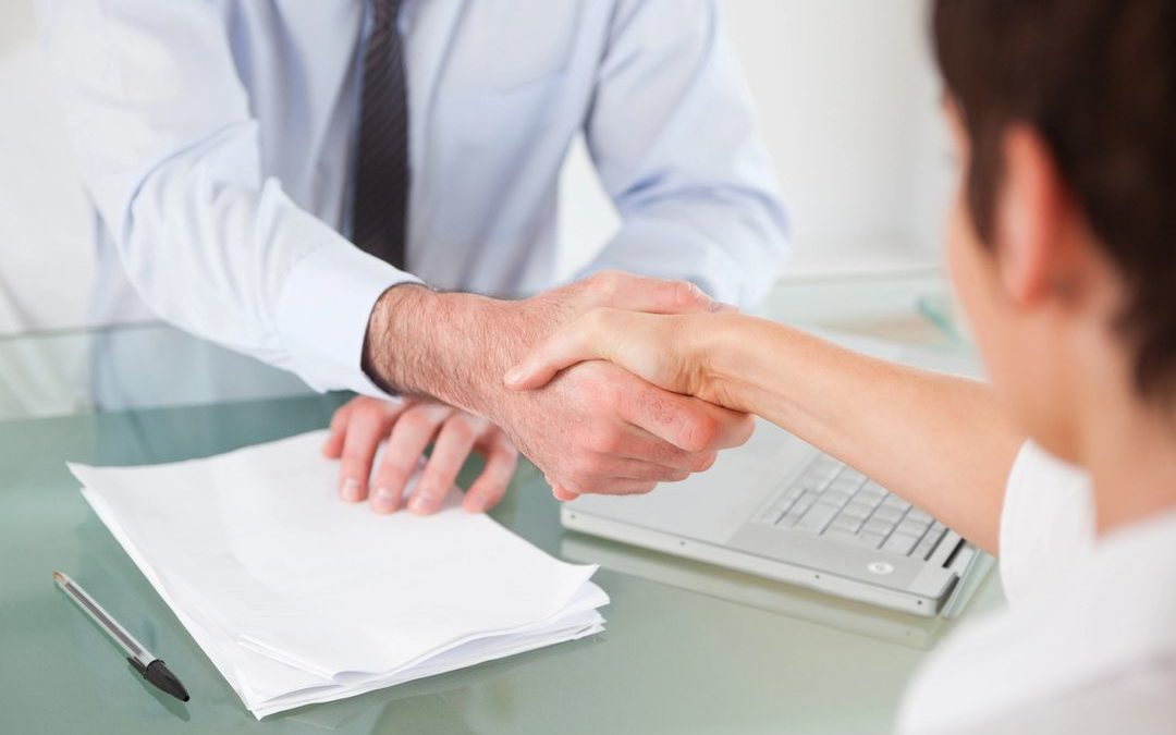 Shaking Hands After Business Cash Advance Deal